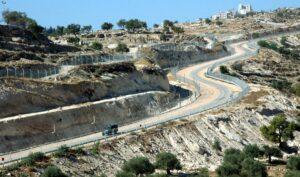 Israels Sicherheitszaun bei Bethlehem