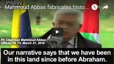 Hat Mahmud Abbas am Sonntag seine Abschiedsrede gehalten?