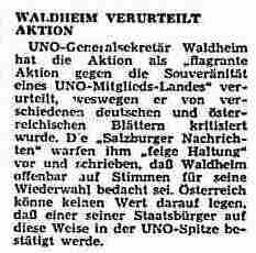 Ein UNO-Generalsekretär aus Österreich, der nichts verstand