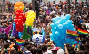 Regenbogenparade in Tel Aviv