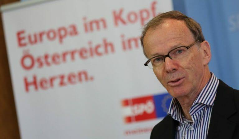 Der österreichische EU-Abgeordnete (SPÖ) Eugen Freund
