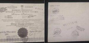 Erdogan Diplom