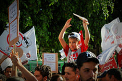 tunis demosntration