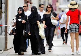 Arabische Touristen