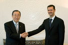 Ban Ki-moon - Assad