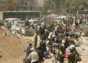 Evakuierung von Daraya