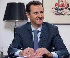 Assad lacht