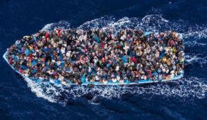 migrantboataerial