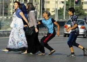 99% der Ägypterinnen erleben sexuelle Belästigung