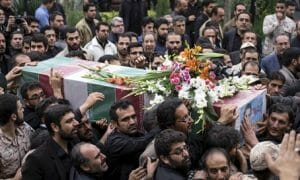 iranian-soldier-funeral