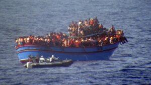 Realität im Mittelmeer: Weniger Flüchtlinge, relativ mehr Tote