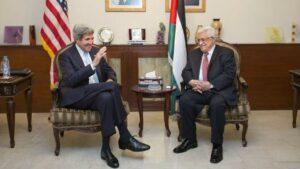 Ex-Außenminister Kerry bittet Abbas, Trump gegenüber hart zu bleiben