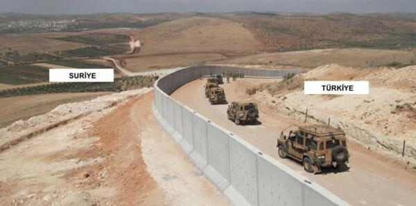 EU finanziert Grenzmauer zwischen Türkei und Syrien