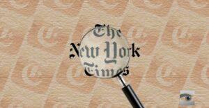 """Propagiert die New York Times """"rechtsextreme Verschwörungstheorie""""?"""