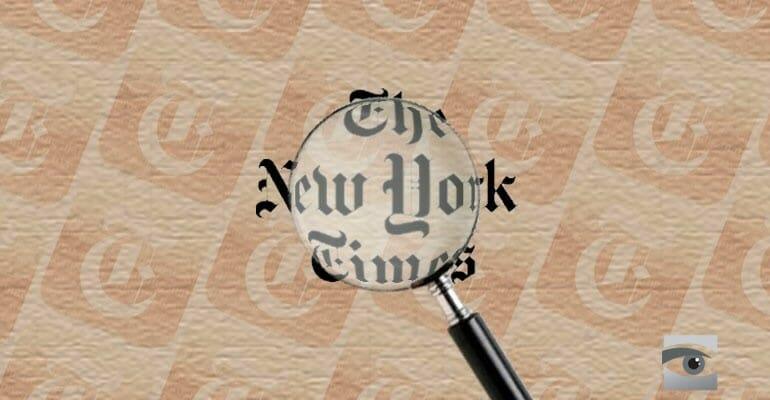 Die New York Times macht Jesus zum Palästinenser