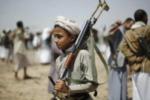Wo Kinder aus der Schule in den Krieg geschickt werden