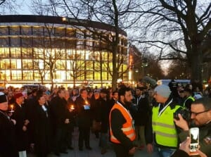 Berlin: Friedenskundgebung mit Islamisten