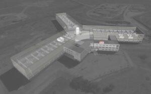 Krematorium in syrischem Foltergefängnis