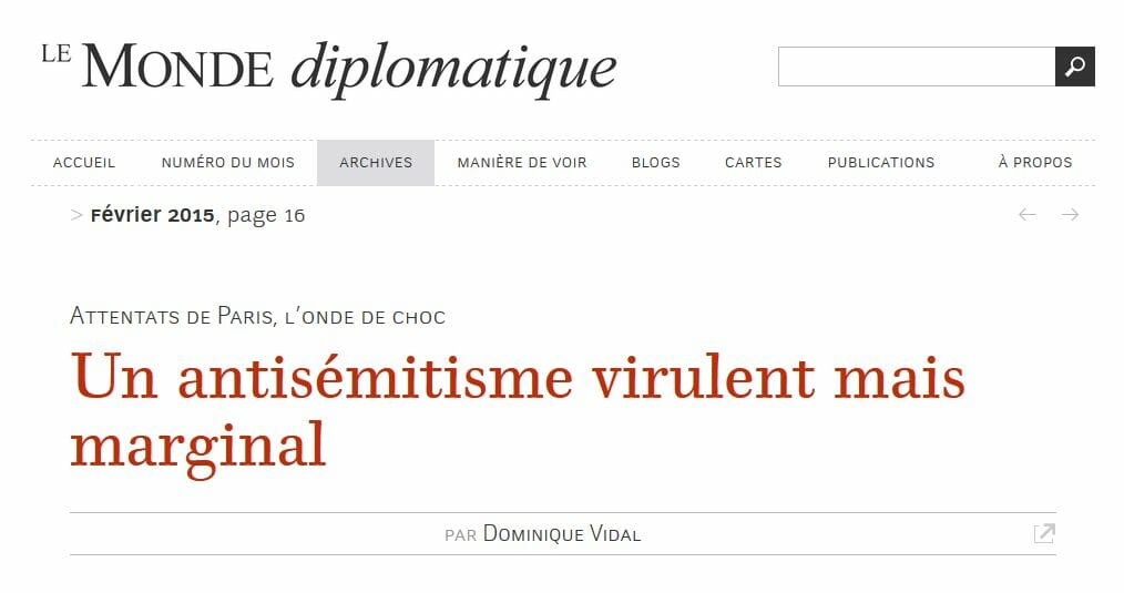 Die Gefährdung der französischen Republik