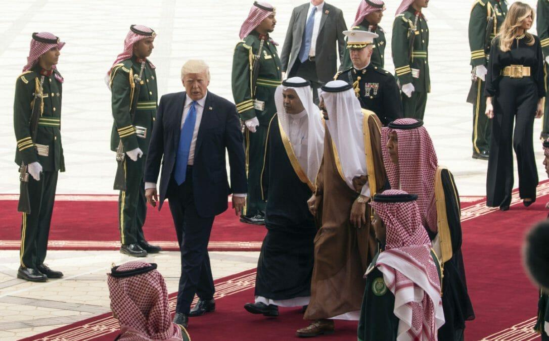 Trump im Nahen Osten: Stillos, aber die richtige Botschaft