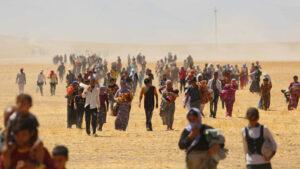 Lebensgrundlagen zerstört: Keine Rückkehrmöglichkeit für Jesiden