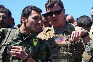 Kurdische Verbände in Syrien verlangen Korridor zum Mittelmeer