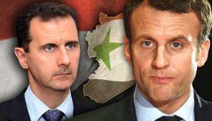 Macron beharrt nicht auf Ablöse Assads