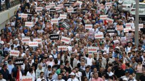 Der Marsch für Gerechtigkeit veränderte die Türkei