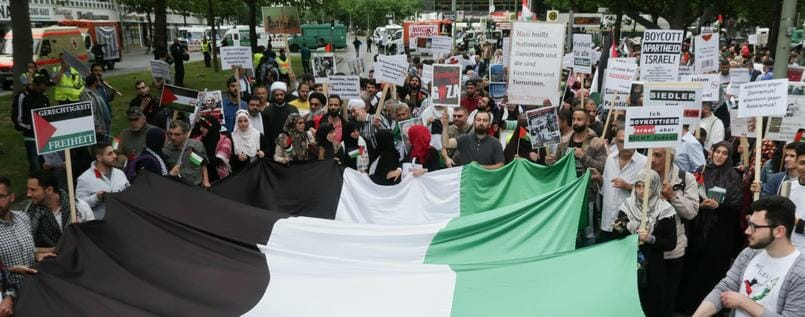 Hisbollah und Revolutionsgarden fordern in Berlin Vernichtung Israels