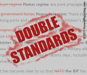 Die Doppelmoral der internationalen Gemeinschaft