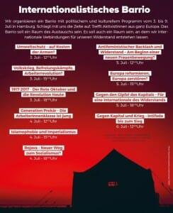Bei den Protesten gegen G20-Gipfel wird zur Intifada aufgerufen