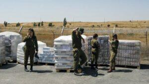 Israels Armee leistet humanitäre Hilfe in Syrien