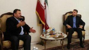 Hamas-Delegation bei Rohanis Angelobung im Iran