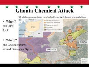 Vierter Jahrestag der syrischen Giftgasangriffe in Ghouta