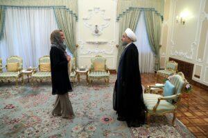 Mit Hisbollah & Co. zu Besuch bei Rohanis Vereidigung im Iran