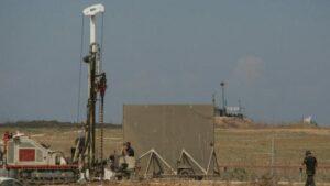 Israel baut unterirdische Sicherheitsbarriere gegen Hamas-Terrortunnel