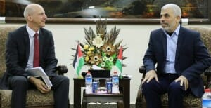 Schweizer Politiker trifft Hamas-Chef in Gaza