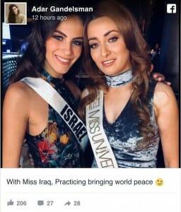 """Ist ein Israel-Hasser in den USA """"die arabische Welt""""?"""