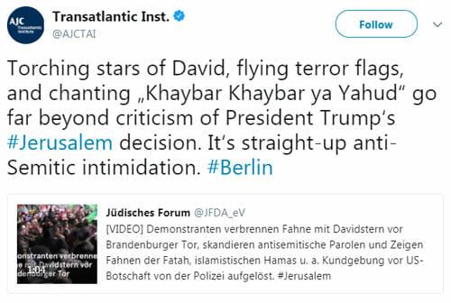 """Man wird doch wohl noch """"Tod den Juden"""" schreien dürfen!"""