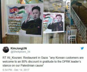 Warum die Palästinenser ausgerechnet Nordkorea lieben