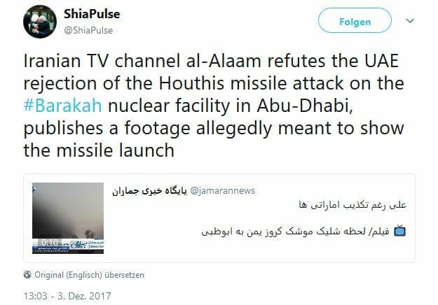 Jemenkrieg: Houthi-Angriff auf Atomreaktor wegen Seitenwechsel Salehs?