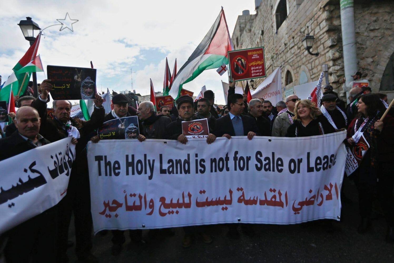 Ein Patriarch macht Israel zum Sündenbock