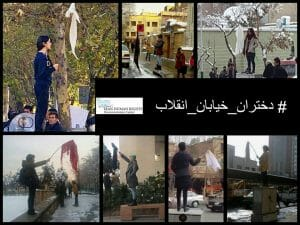 Ein Jahr Haft für Anti-Kopftuch-Demonstrantin im Iran