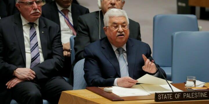 Mahmud Abbas droht Europa mit palästinensischem Terror