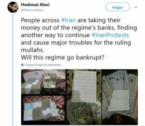 Iraner entwickeln immer neue Protestformen gegen das Regime
