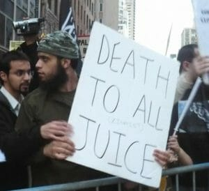 Antisemitismus hier, Israel dort