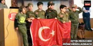Ditib-Moscheen: Weitere Aufnahmen von Kindern in Soldatenuniformen
