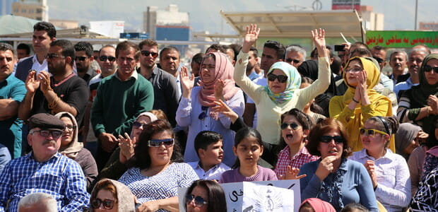 Frauen in Irakisch-Kurdistan nehmen sich das Recht zu demonstrieren