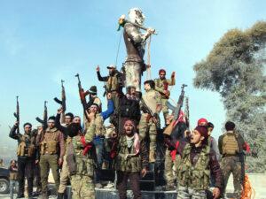 Syrien: Mit Türkei verbündete Milizen enteignen Kurden in Afrin
