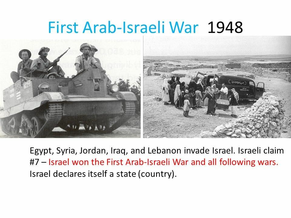 Warum wurde 1948 kein arabischer Staat in Palästina gegründet?